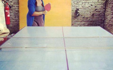 Inaugurazione del ping pong